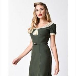 Stop staring 1940s wiggle dress